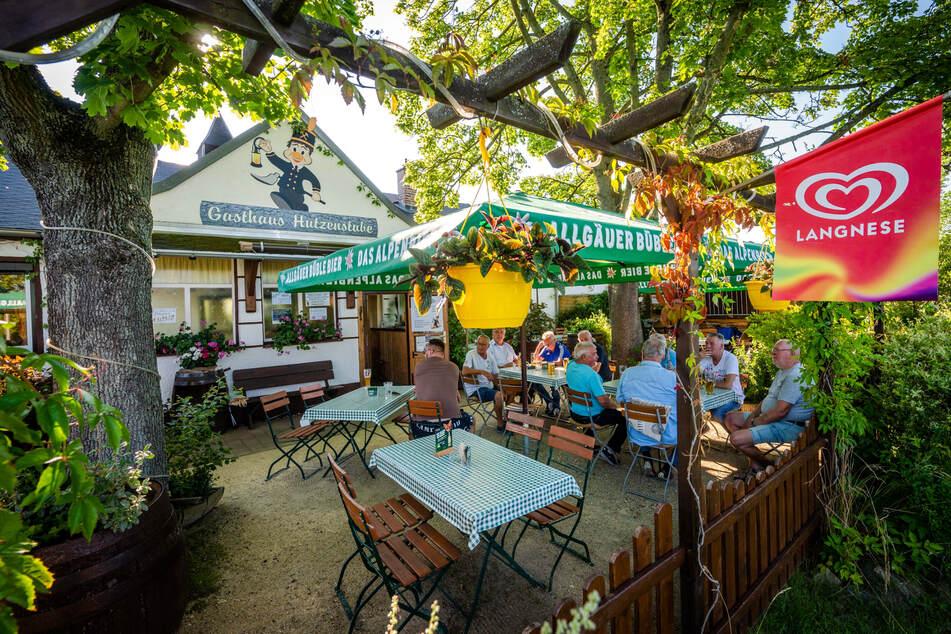 Selbst in Corona-Sommern ist das älteste Vereinsheim von Chemnitz gut besucht.
