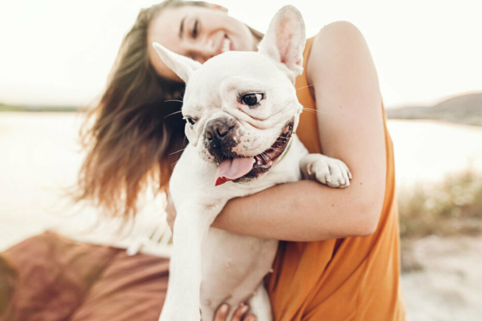 """Make sure you say """"I love you"""" to your dog more often. Your furry friend will say it back in its own way."""