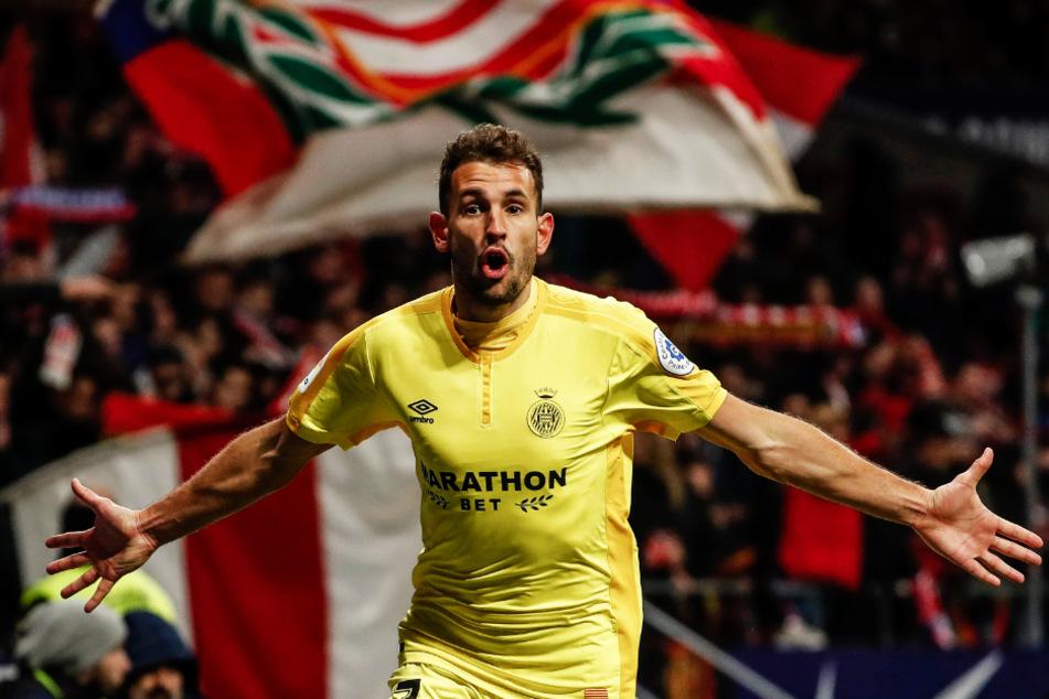 Zerstört Cristhian Stuani (33) die Aufstiegshoffnungen Almerias? Der Stürmer des FC Girona hat in dieser Saison satte 29 Tore erzielt und drei Treffer in 36 Einsätzen vorbereitet.