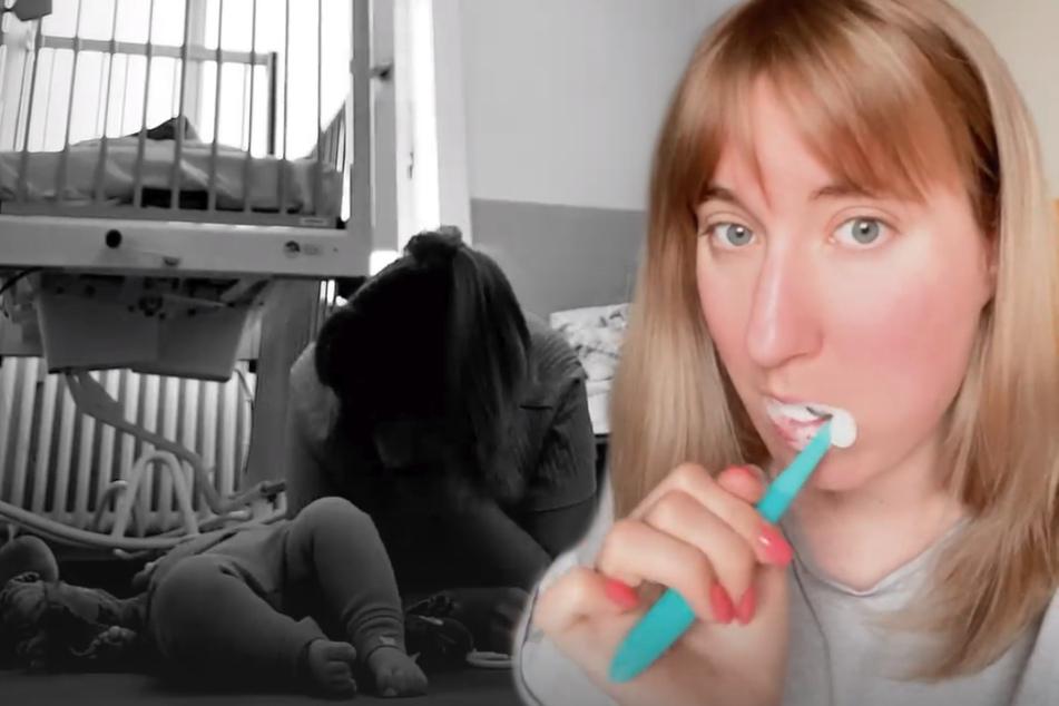 Melissa meldet sich aus dem Krankenhaus. (Montage)