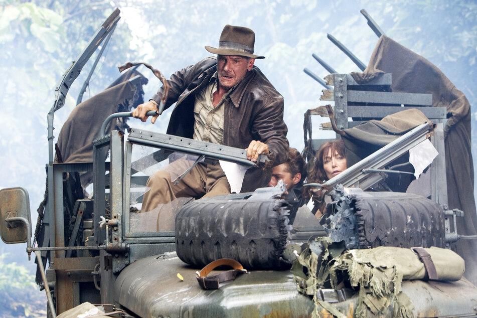 Indiana Jones und das Königreich des Kristallschädels.