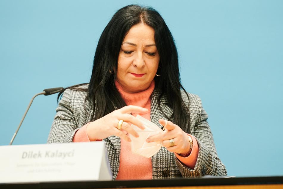 Dilek Kalayci, Berliner Senatorin für Gesundheit, Pflege und Gleichstellung.