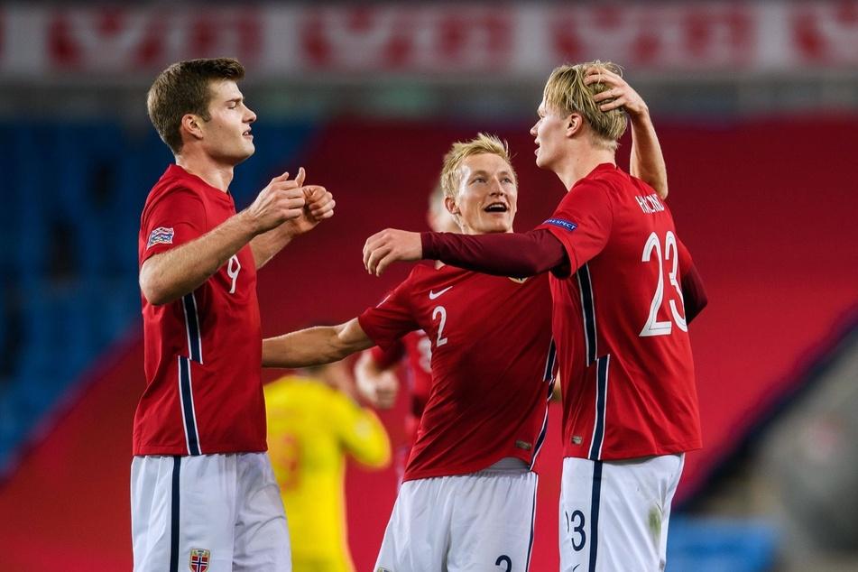 Alexander Sörloth (24) hatte im Hinspiel gegen die Rumänen ein Tor zum 4:0-Erfolg beigetragen.