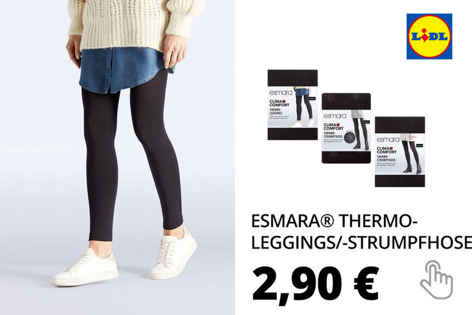 ESMARA® Thermo-Leggings/-Strumpfhose