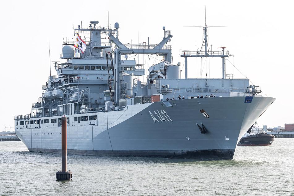 Deutsches Kriegsschiff startet für EU-Einsatz ins Mittelmeer