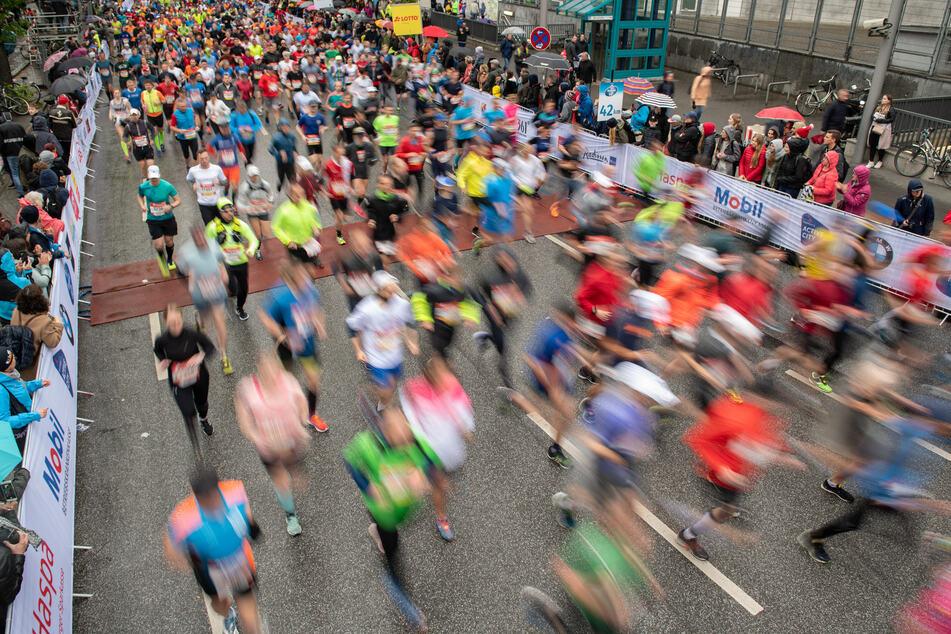 Am Sonntag ging die 35. Auflage des Hamburg-Marathons über die Bühne. Die Veranstaltung fand unter strikten Hygiene-Auflagen statt. (Archivfoto)