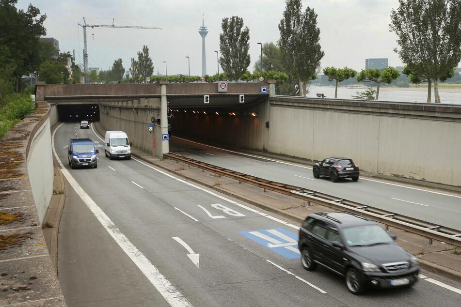 Nach tödlichem Unfall auf A3 bei Köln: Betonplatten in Düsseldorfer Tunnel werden gesichert