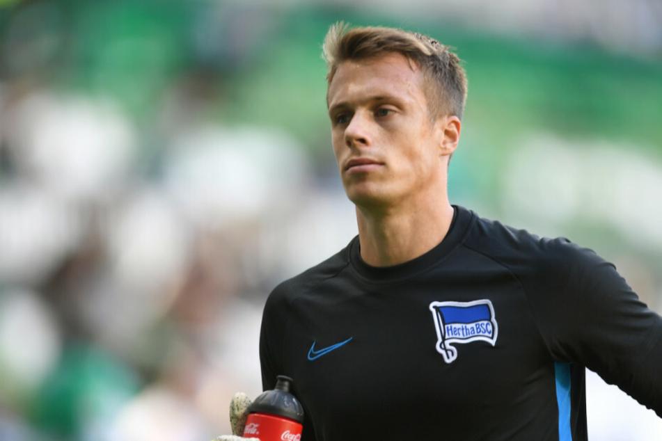 Hertha-Keeper Alexander Schwolow (28) warnt davor, sich auf dem jüngsten Erfolg auszuruhen.