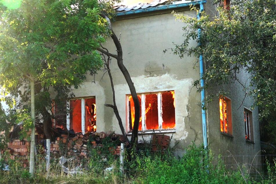 Vier Bereiche wurden durch den Angeklagten nacheinander in Brand gesetzt.