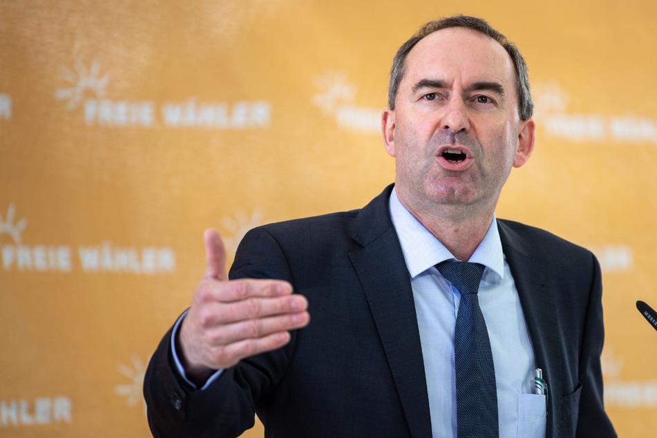 Hubert Aiwanger, Wirtschaftsminister und Landesvorsitzender der Freien Wähler in Bayern.