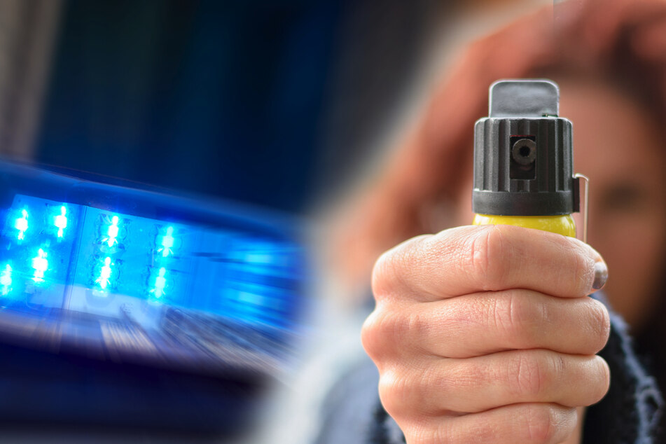 Chemnitz: Döbeln: Junge Frau (19) rastet aus und verletzt zwei Polizisten mit Pfefferspray