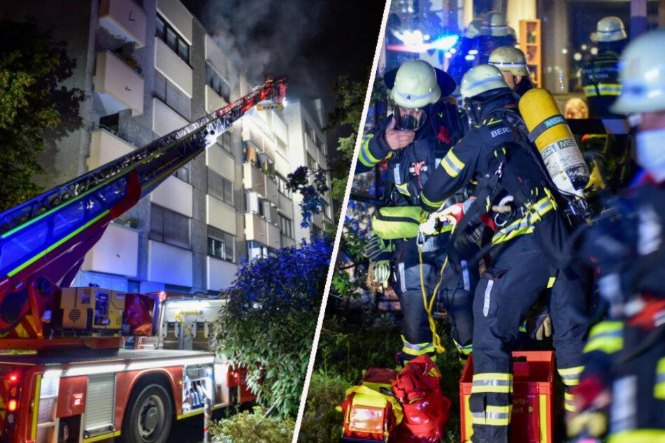 Die Feuerwehr war mit 80 Einsatzkräften am Einsatzort.