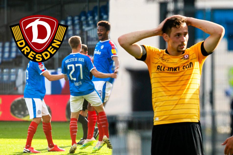 Dynamo kassiert schmerzhafte Pleite in Kiel und steht einen Schritt vorm Abgrund!