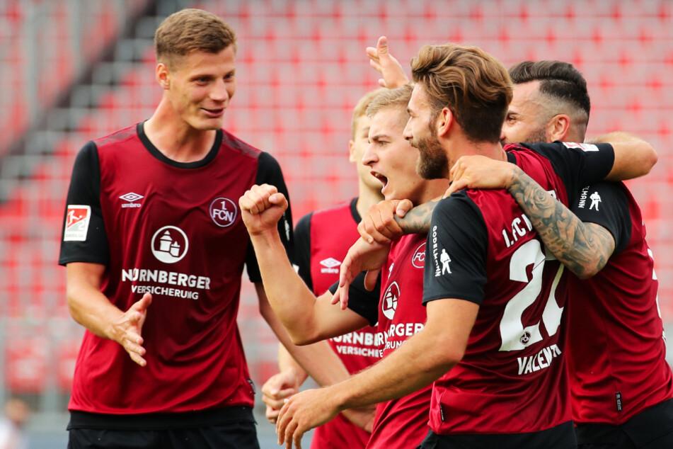 Der 1. FC Nürnberg war beim 2:0-Sieg im Hinspiel die klar überlegene Mannschaft.