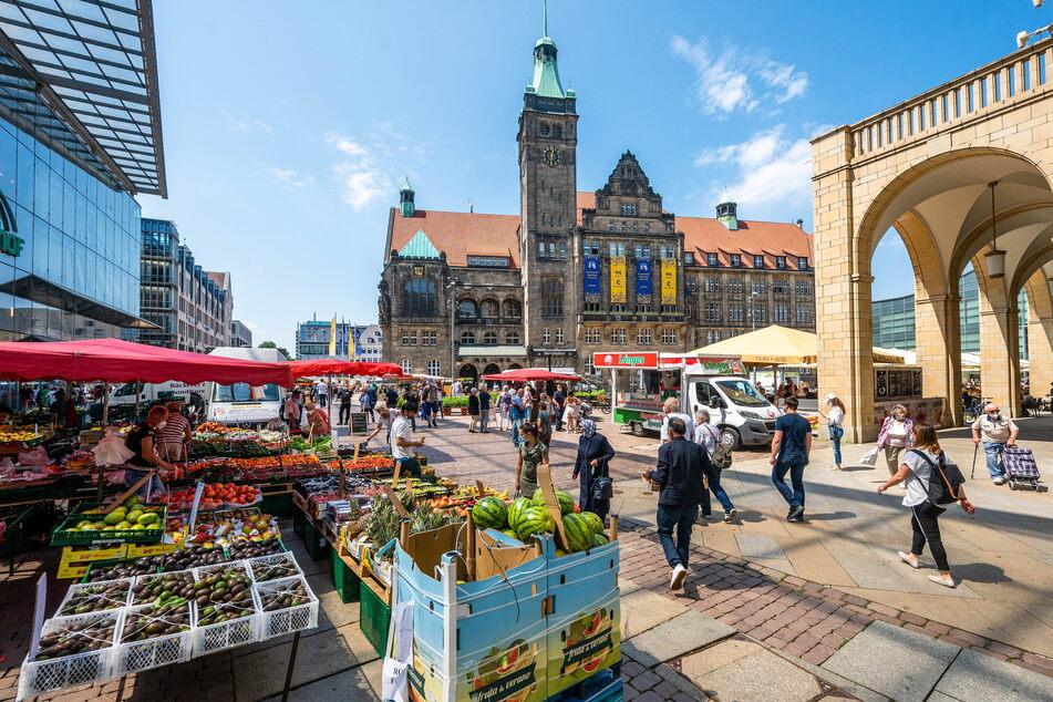 In die Chemnitzer Innenstadt soll wieder Leben einkehren.