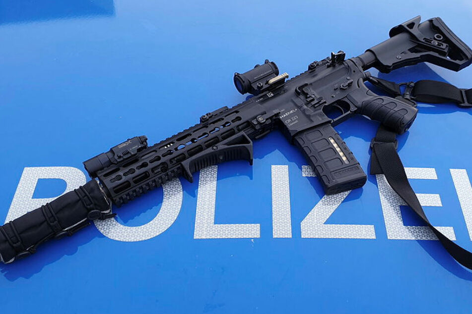 Die Haenel CR223 ist das neue Sturmgewehr der sächsischen Polizei.