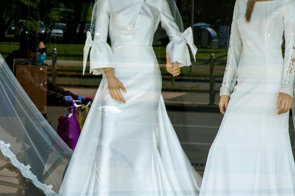 Das Schaufenster eines Brautmodengeschäfts in Zagreb (Symbolbild).