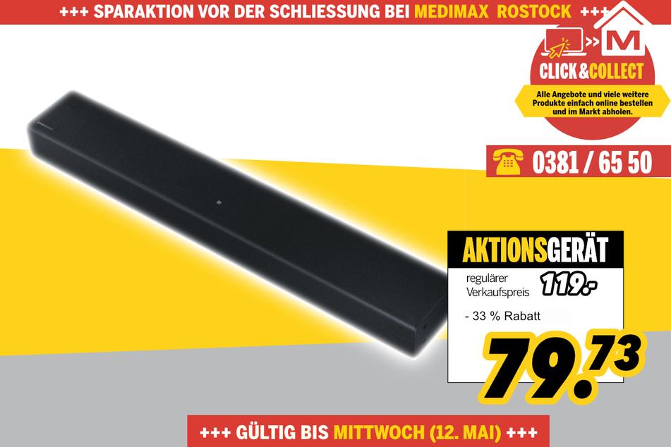HW-T400/ZG von Samsung für 79,73 Euro
