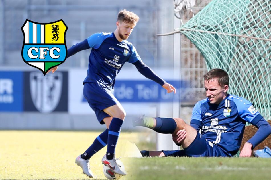Chemnitzer FC: Entwarnung bei Tim Campulka, Paul Milde muss pausieren