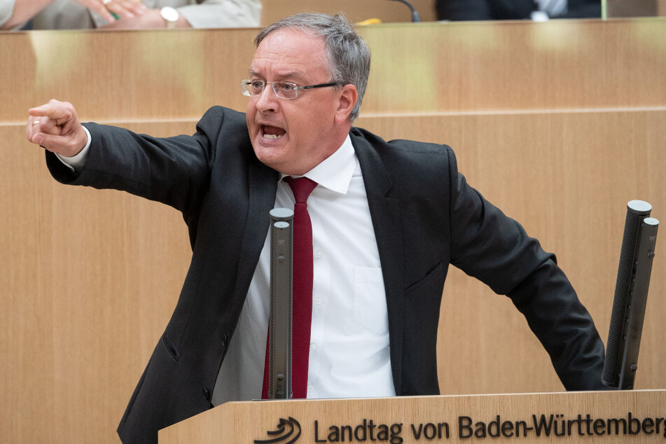 Andreas Stoch (51, SPD) griff den Koalitionsvertrag der grün-schwarzen Regierung an. (Archiv)