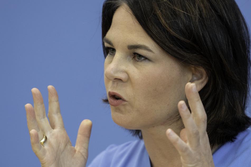 Sie will unbedingt ins Kanzleramt: Annalena Baerbock (40).