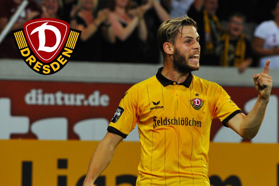Ex-Dynamo Justin Eilers bei Drittligisten im Probetraining