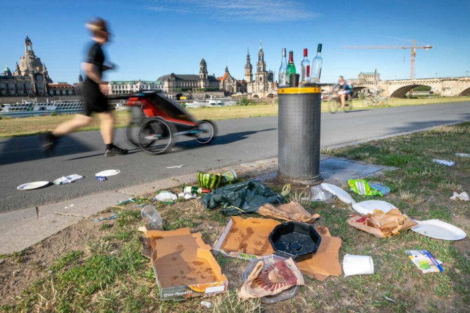 Überall Müll! Sachsens Städte haben dreckiges Problem