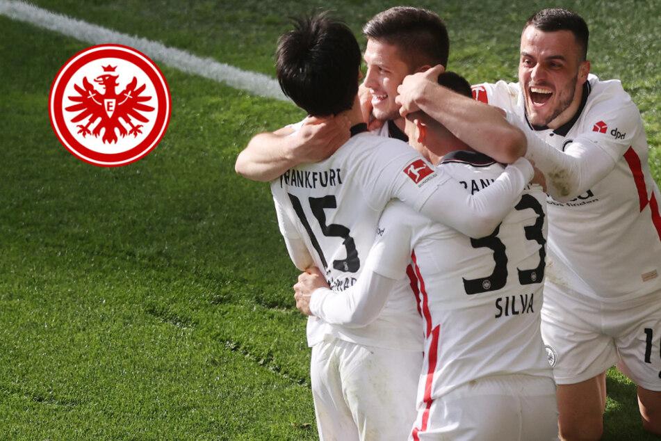 """Eintracht feiert """"gewaltigen"""" Sieg beim BVB: Weiter Fragezeichen hinter Hütter"""