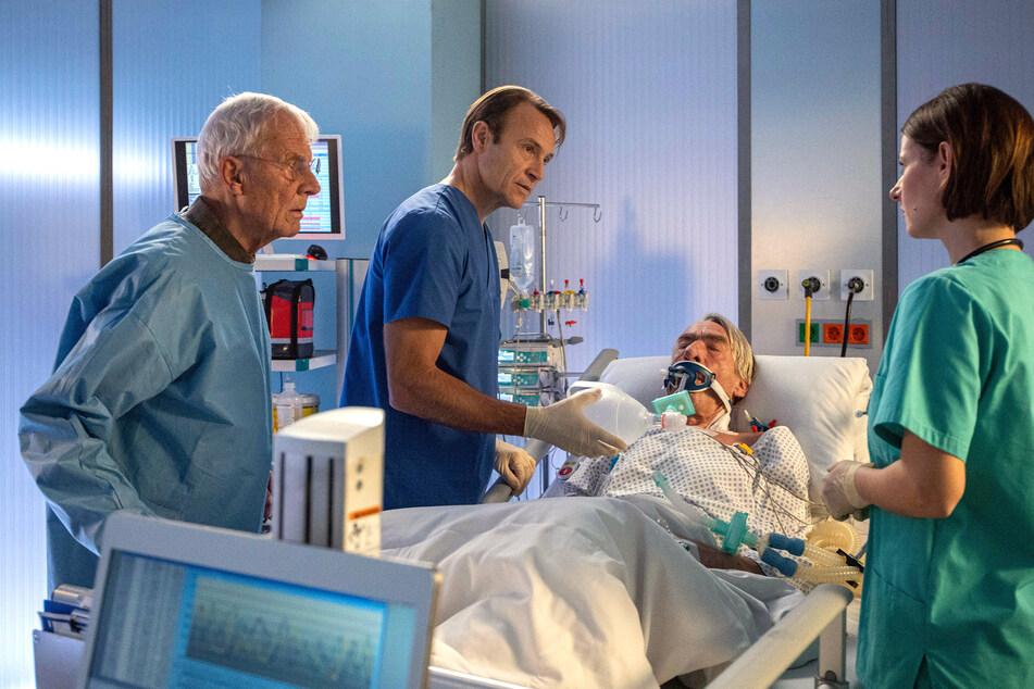 Auch in den neuen Folgen der Sachsenklinik soll eine Pandemie eine Rolle spielen.