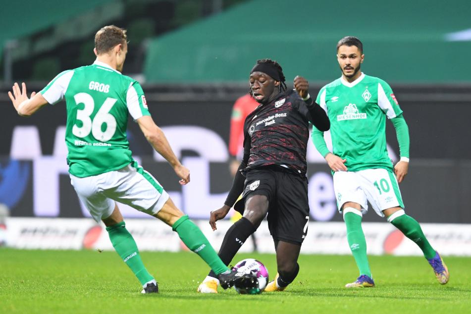 Tanguy Coulibaly (19, M.) hat in dieser Saison den Durchbruch beim VfB Stuttgart geschafft.
