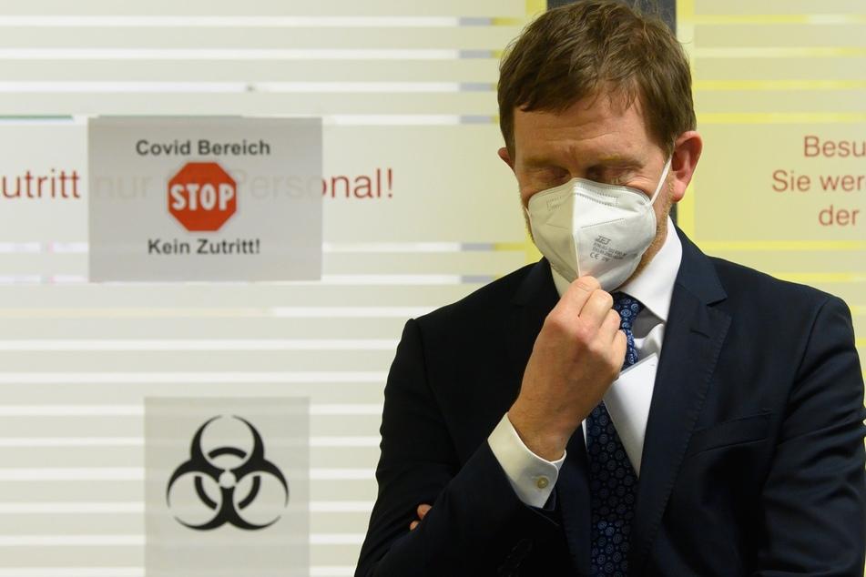 Sachsens Ministerpräsident Kretschmer will Impfpflicht nicht ausschließen