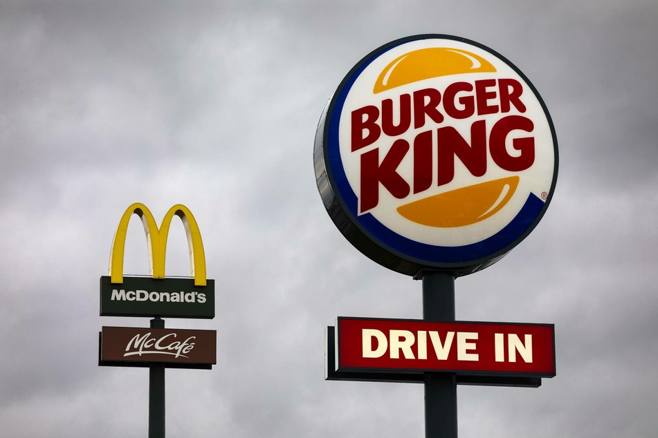 Burger King is advertising for arch-rival McDonald's