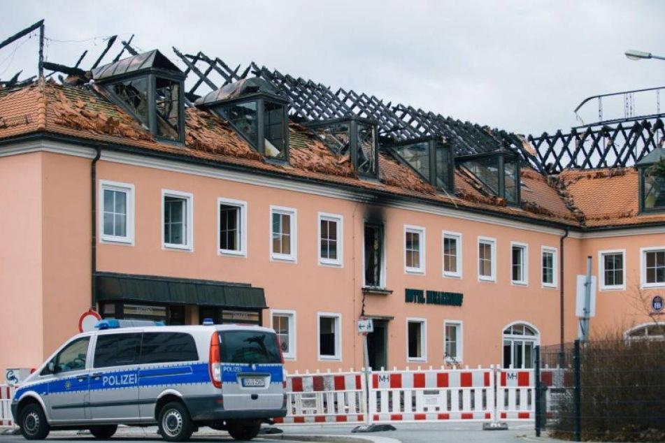 Trotz Brand: Flüchtlinge sollen in Bautzner Heim ziehen