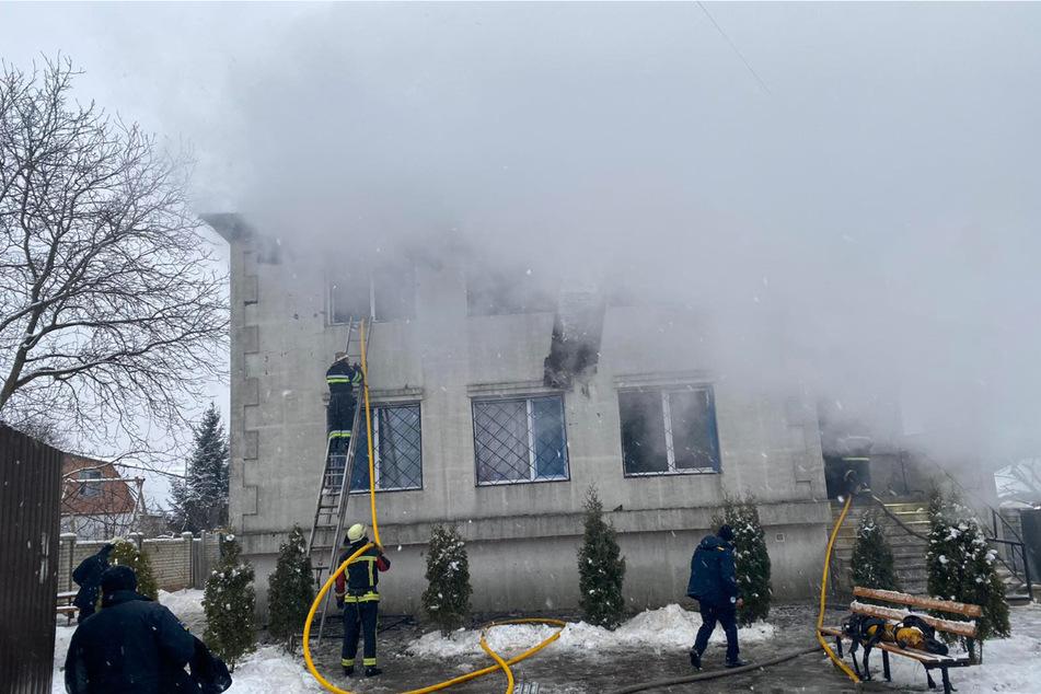 Brand in Altenheim fordert mindestens 15 Menschenleben