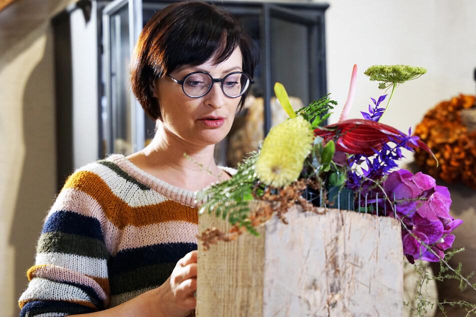 Juliane Müller will MDR-Garten-Floristin des Jahres werden.