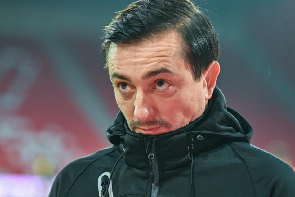 Trainer Daniel Meyer von Braunschweig kann eventuell mit Fans beim Heimspiel rechnen.