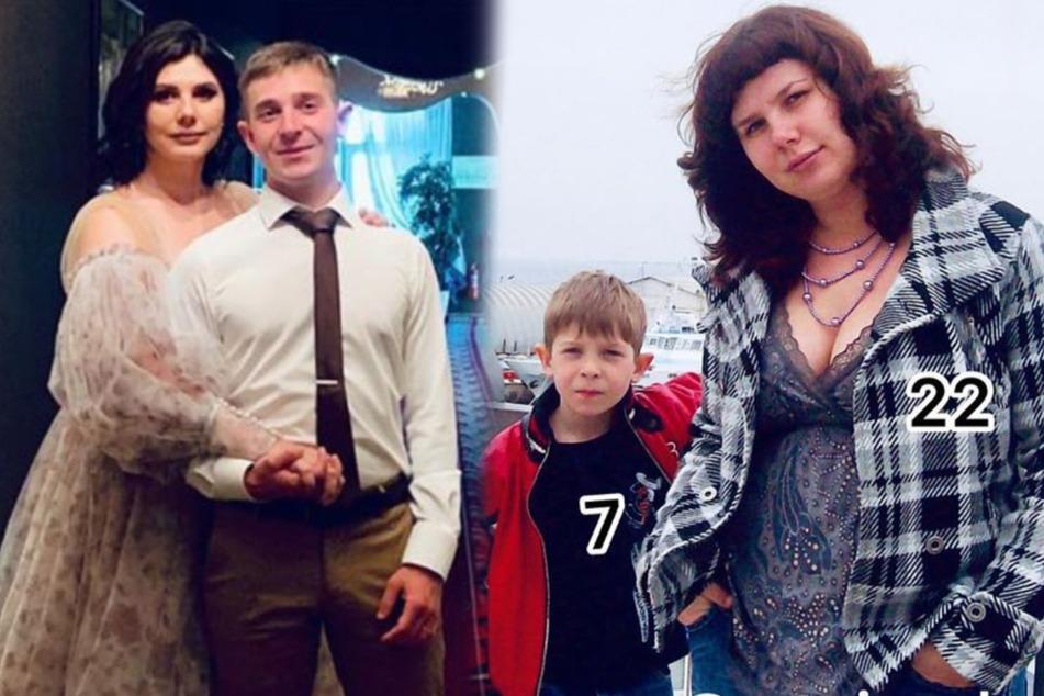 Mit sieben Jahren hat Vladimir seine Stiefmutter Marina zum ersten Mal getroffen, 13 Jahre später hat er sie selbst geheiratet. (Bildmontage)