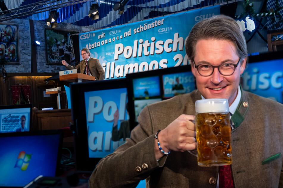 """""""Alle gegen CSU und CDU"""": Andreas Scheuer befürchtet schwere Bundestagswahl 2021"""