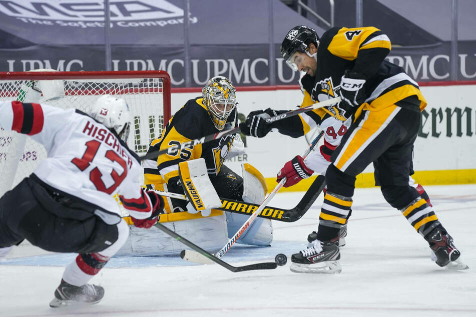 NHL: The Penguins put up seven goals, but it almost wasn't enough against the Devils!
