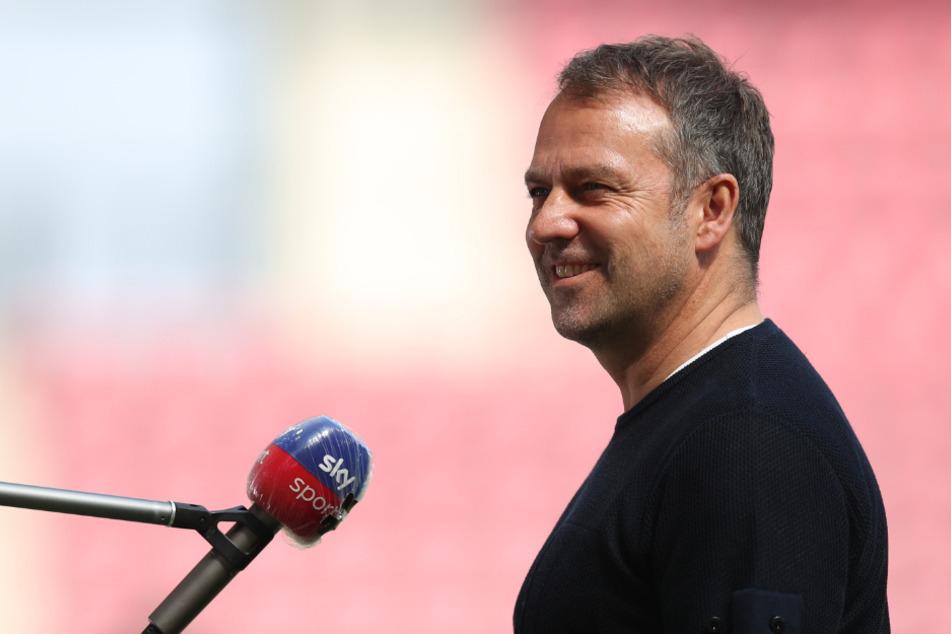 Noch-Bayern-Coach Hansi Flick (56) gilt als vielversprechender Kandidat als neuer Nationaltrainer. (Archiv)