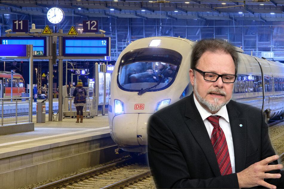 Chemnitz: Bahn frei für schnelle Zugfahrt nach Leipzig, Berlin und Erfurt
