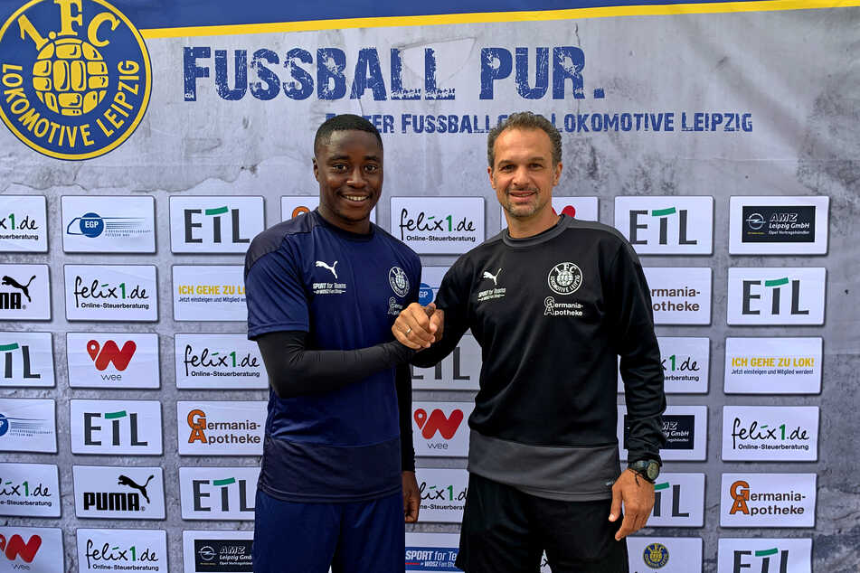 Gabriel Boakye (22) soll den 1. FC Lok ab sofort unterstützen.
