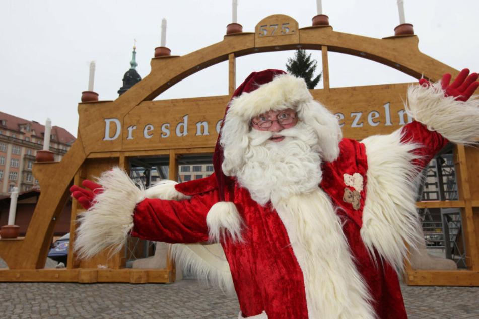 Weihnachtsmann Steffen Urban (56) beschert in diesem Jahr digital.