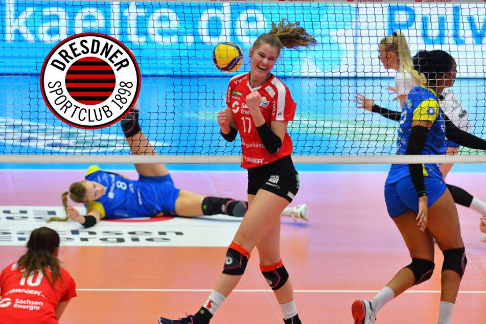 3:0 gegen Schwerin! Dresdner SC triumphiert im Ost-Klassiker