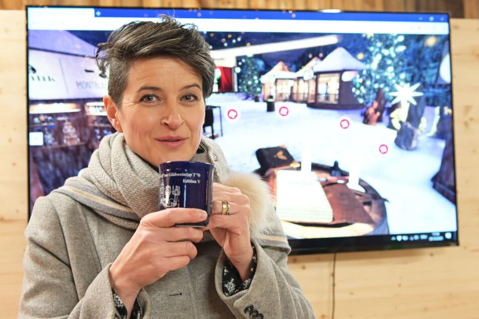 Dregeno-Chefin Juliane Kröner (43) macht sich angesichts der Corona-Lage große Sorgen um die erzgebirgischen Händler.