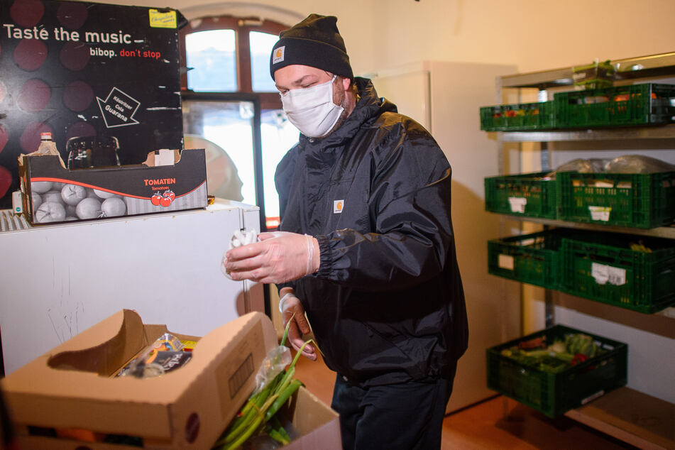 """Andreas Gottschalt von der Initiative """"Gastro Hilft""""."""