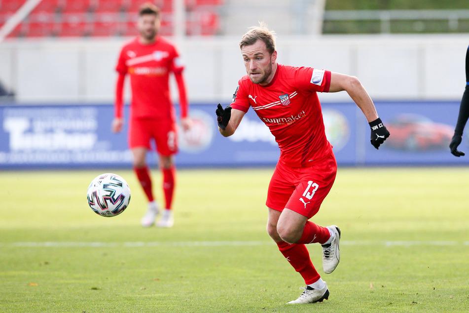 Wird weiterhin beim FSV Zwickau spielen: Mittelfeldspieler Mike Könnecke (32).