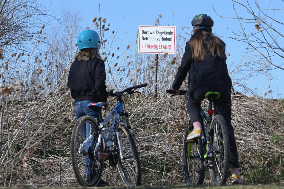 Chemnitz: Beliebte BMX-Strecke plötzlich gesperrt! Kinder und Jugendliche sind enttäuscht