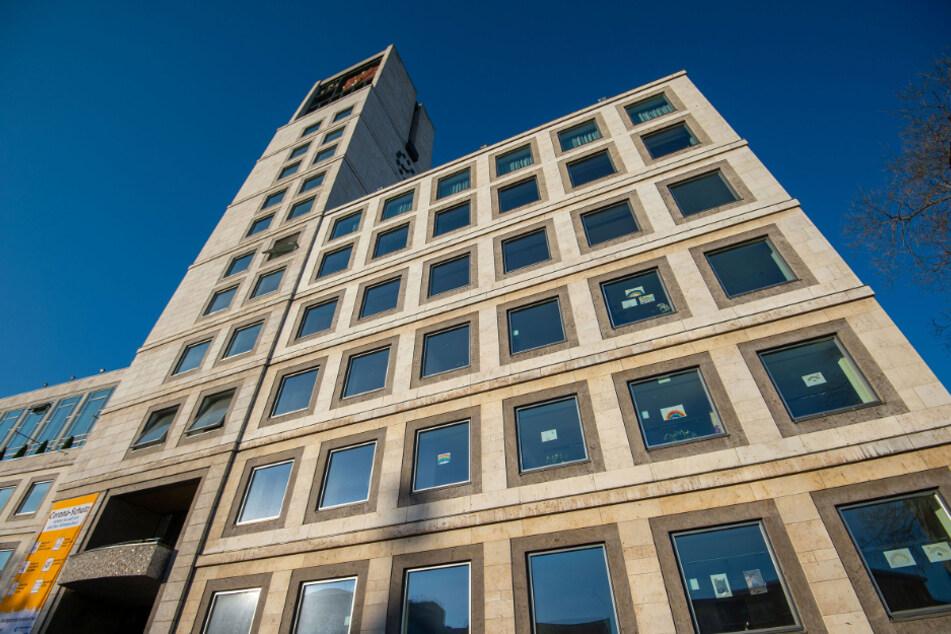Das Stuttgarter Rathaus.