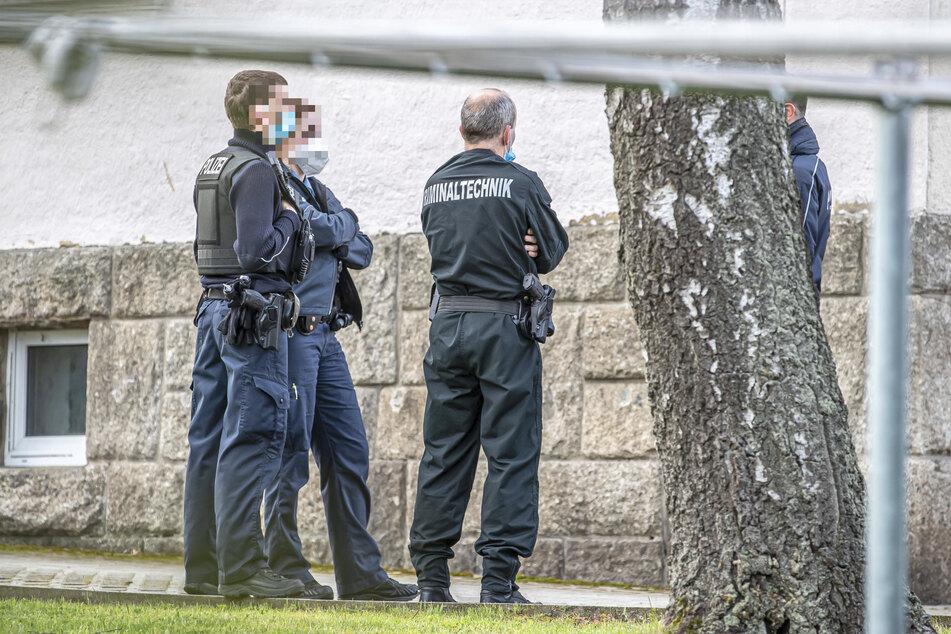 Polizeieinsatz in Mühltroff: Beamte fahndeten nach ihrem Kollegen Ralph P. (59).